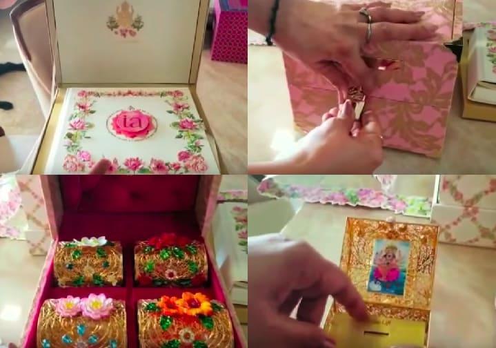 Isha Ambani Anands Wedding Card Is Worth 3 Lakh Reports