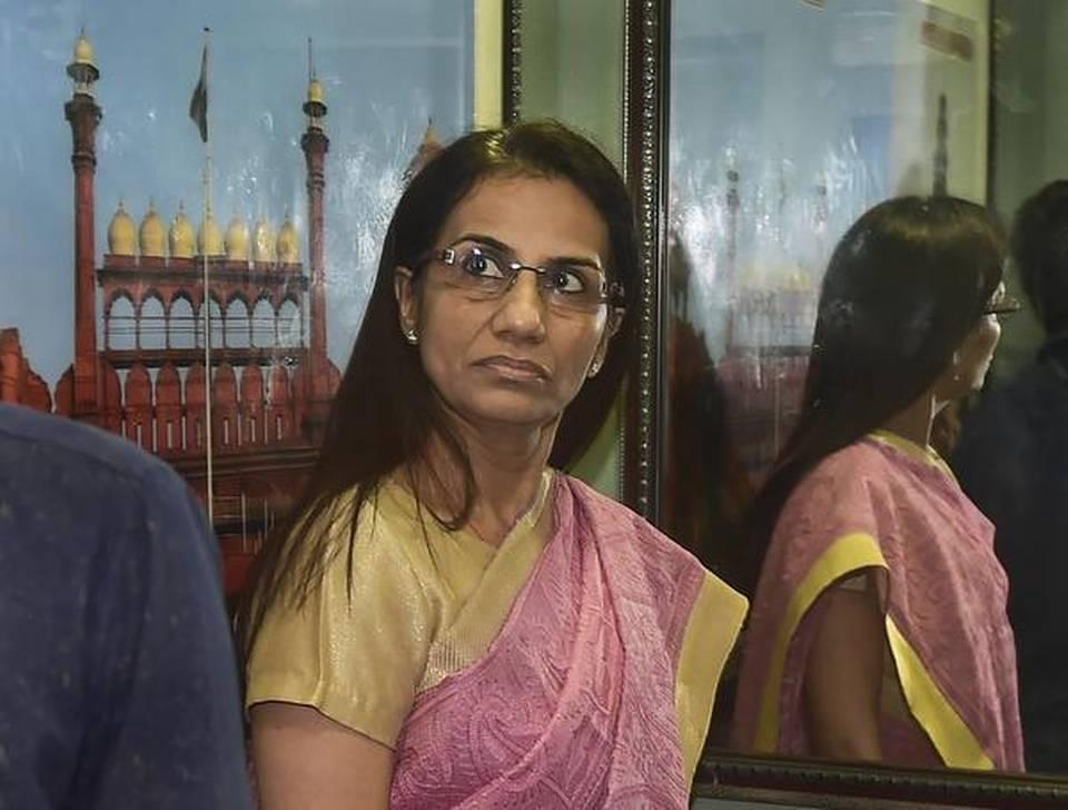 Chanda Kochhar, husband Deepak Kochhar appear before ED