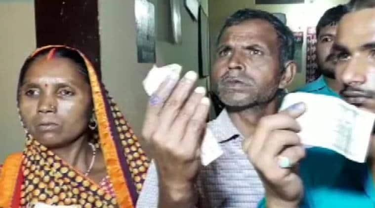 Villagers claim BJP workers inked fingers to stop them from voting