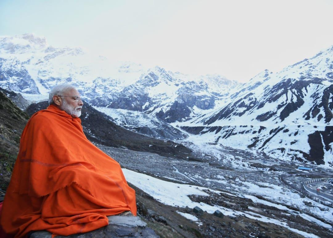 Always humbling to return to mountains: PM shares pic from Kedarnath