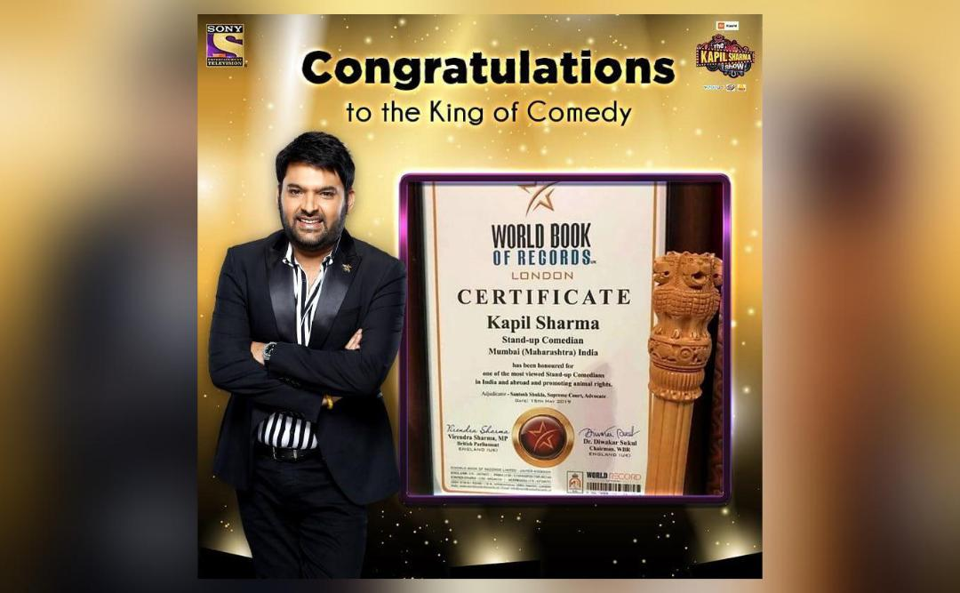 Kapil Sharma named among world's most viewed comedians