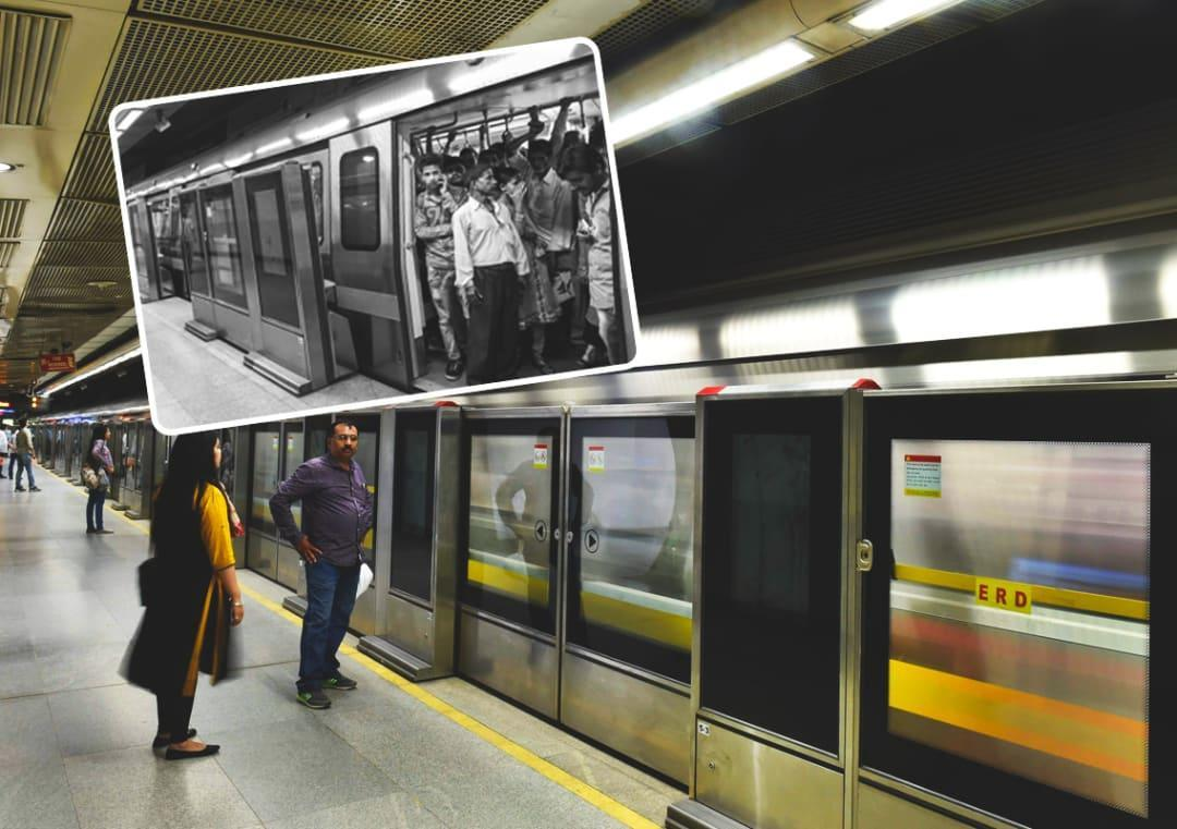 Delhi Metro Rajiv Chowk Station Gets Platform Doors On