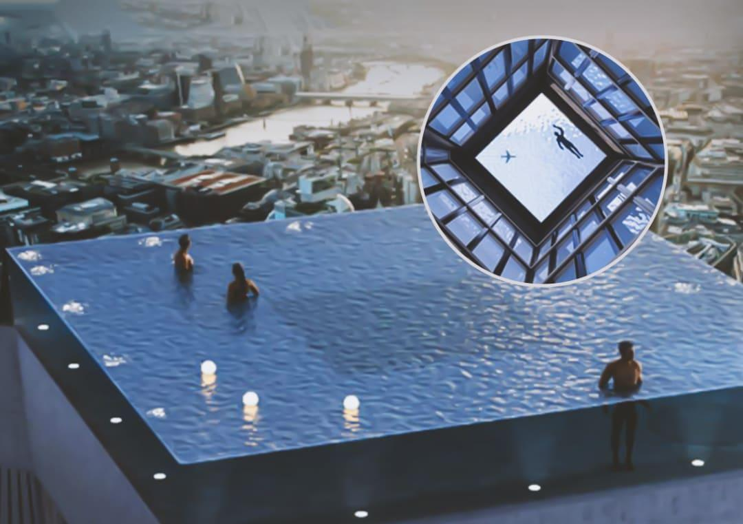 World S First Infinity Pool With 360 Degree View To Open